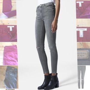 TOPSHOP Mojo Jamie skinny jeans